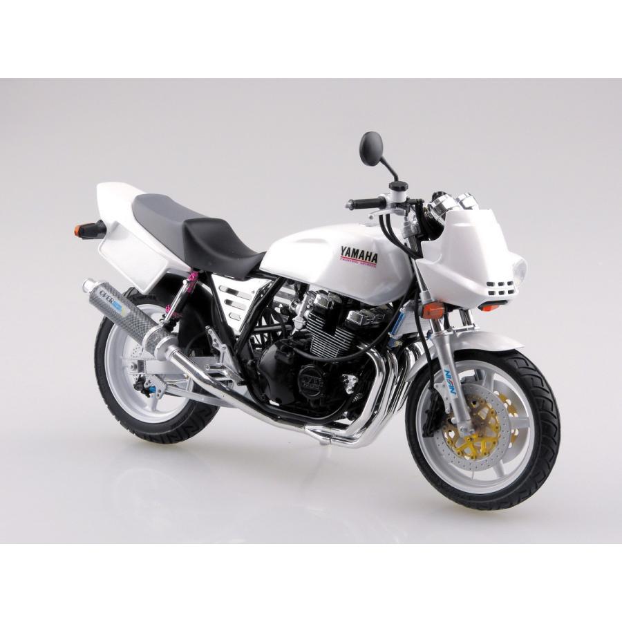 [予約特価5月再生産予定]ヤマハ XJR400S カスタムパーツ付き 1/12 バイク No.35 #プラモデル|aoshima-bk|02