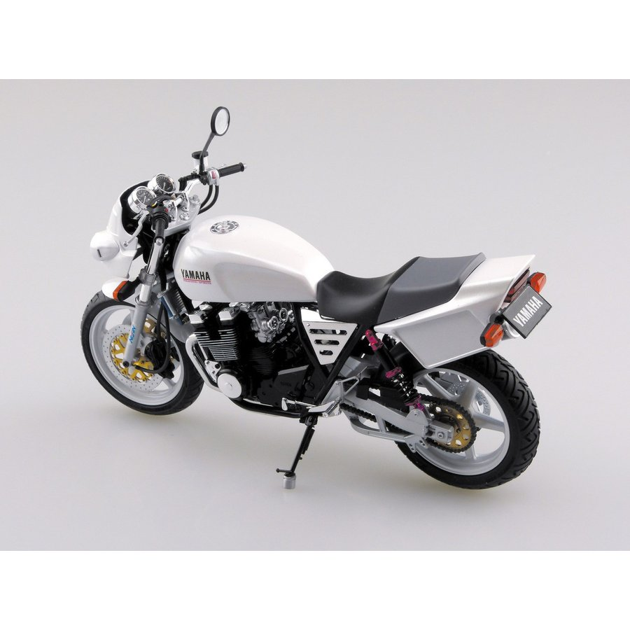 [予約特価5月再生産予定]ヤマハ XJR400S カスタムパーツ付き 1/12 バイク No.35 #プラモデル|aoshima-bk|03