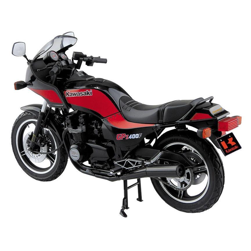 カワサキ GPz400F 1/12 バイク No.36 #プラモデル|aoshima-bk|03
