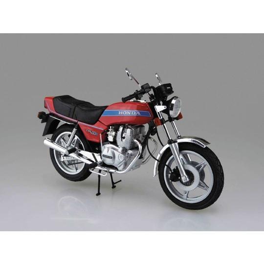 ホンダ ホークIII CB400N 1/12 バイク No.40 #プラモデル|aoshima-bk|02