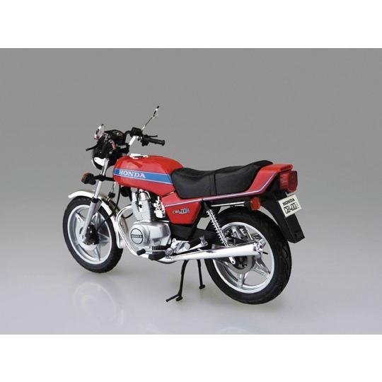 ホンダ ホークIII CB400N 1/12 バイク No.40 #プラモデル|aoshima-bk|03