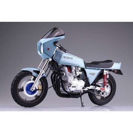 カワサキ Z1-R カスタムパーツ付き 1/12 バイク No.45 #プラモデル aoshima-bk 02