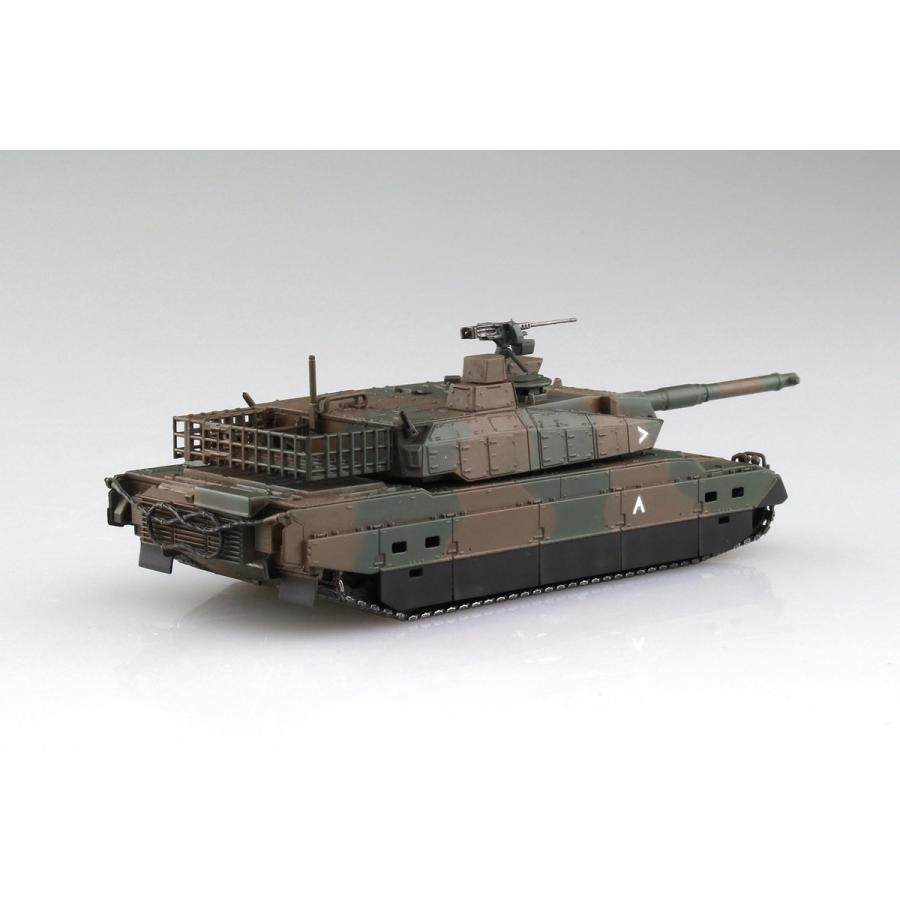 陸上自衛隊 10式戦車&特大セミトレーラー付属 1/72 ミリタリーモデルキット No.16 #プラモデル|aoshima-bk|04