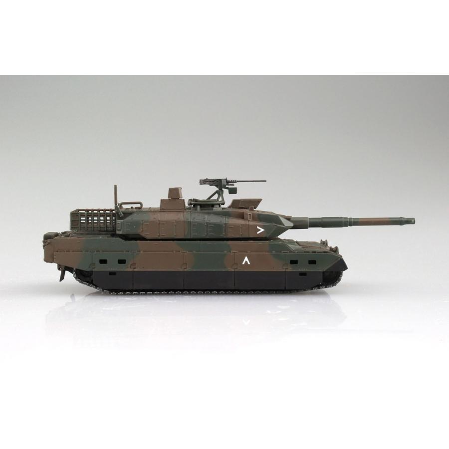 陸上自衛隊 10式戦車&特大セミトレーラー付属 1/72 ミリタリーモデルキット No.16 #プラモデル|aoshima-bk|05