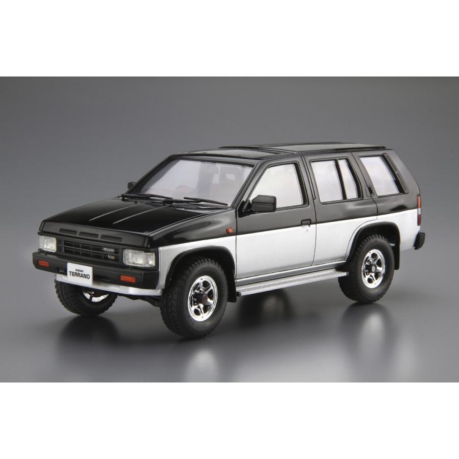 1/24 ニッサン D21 テラノ V6-3000 R3M '91 ザ・モデルカー No.106   #プラモデル|aoshima-bk|02