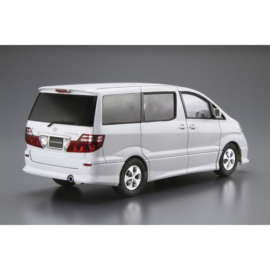 トヨタ NH10W アルファードG/V MS/AS '05 1/24  ザ・モデルカー No.113   #プラモデル|aoshima-bk|03