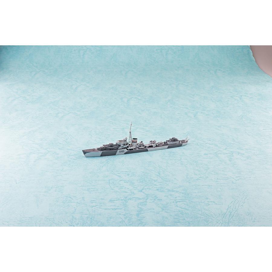 英国海軍 駆逐艦 ジュピター 1/700 ウォーターライン No.915  #プラモデル aoshima-bk 02