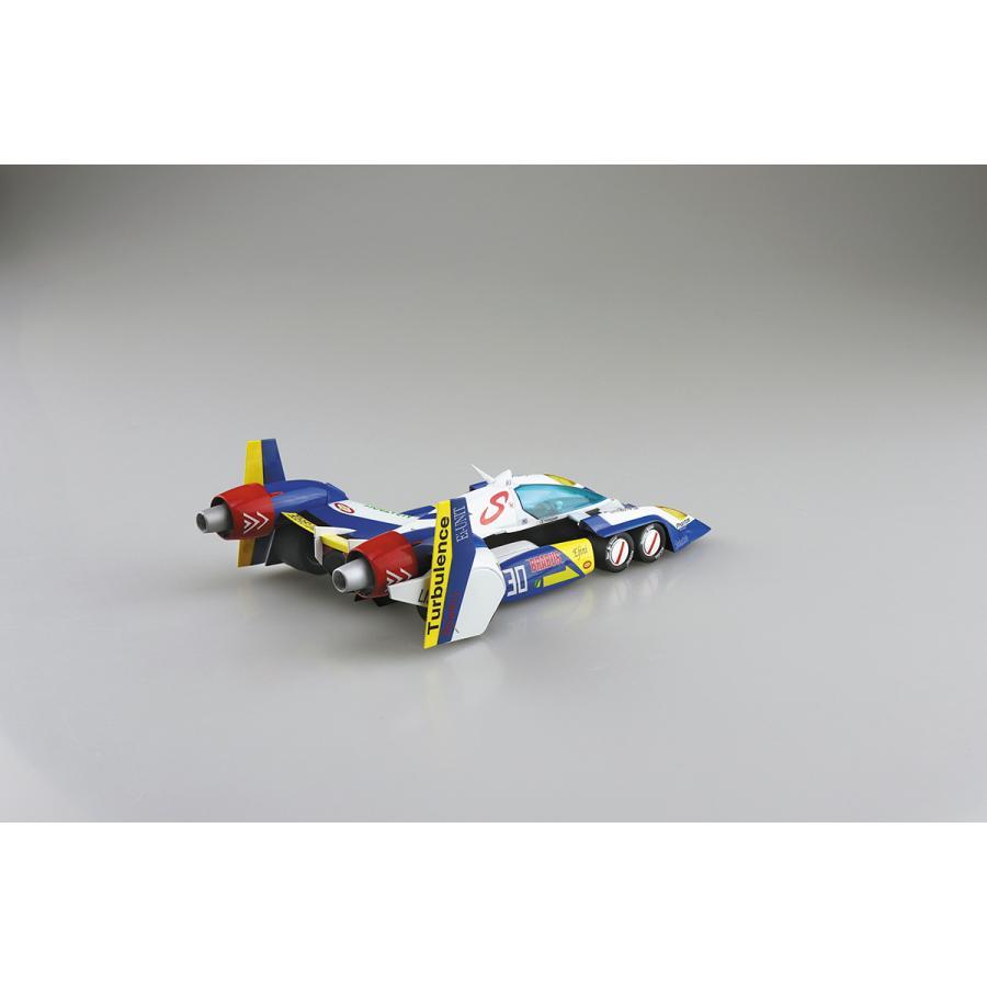 スーパーアスラーダ AKF-11 エアロモード/エアロブーストモード 1/24 サイバーフォーミュラ No.9  #プラモデル|aoshima-bk|05