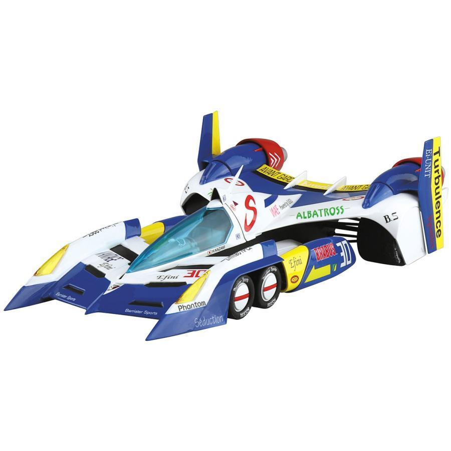スーパーアスラーダ AKF-11 エアロモード/エアロブーストモード 1/24 サイバーフォーミュラ No.9  #プラモデル|aoshima-bk|06