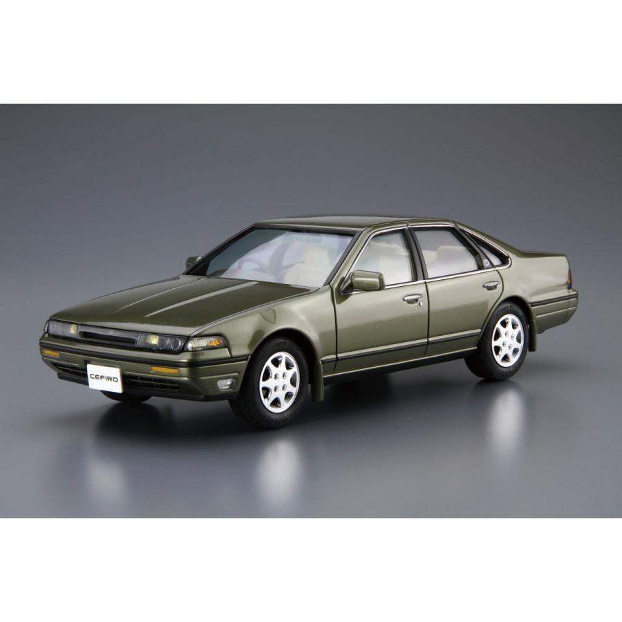 [予約2021年10月再生産予定]ニッサン A31 セフィーロ '91 1/24 ザ・モデルカー No.91   #プラモデル|aoshima-bk|02