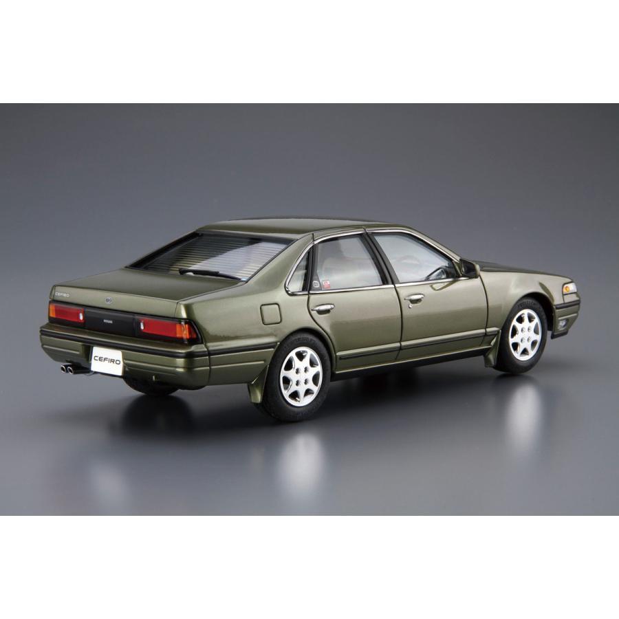 [予約2021年10月再生産予定]ニッサン A31 セフィーロ '91 1/24 ザ・モデルカー No.91   #プラモデル|aoshima-bk|03