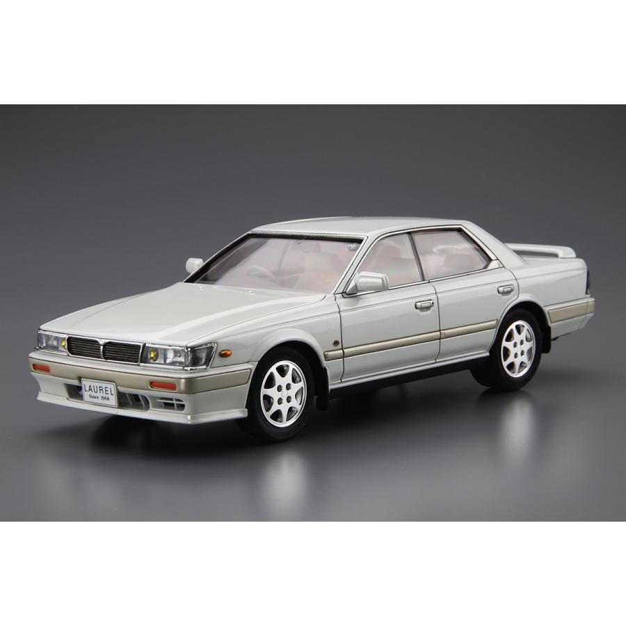 ニッサン HC33 ローレルメダリストCLUB・L '91 1/24 ザ・モデルカー No.28   #プラモデル|aoshima-bk|02