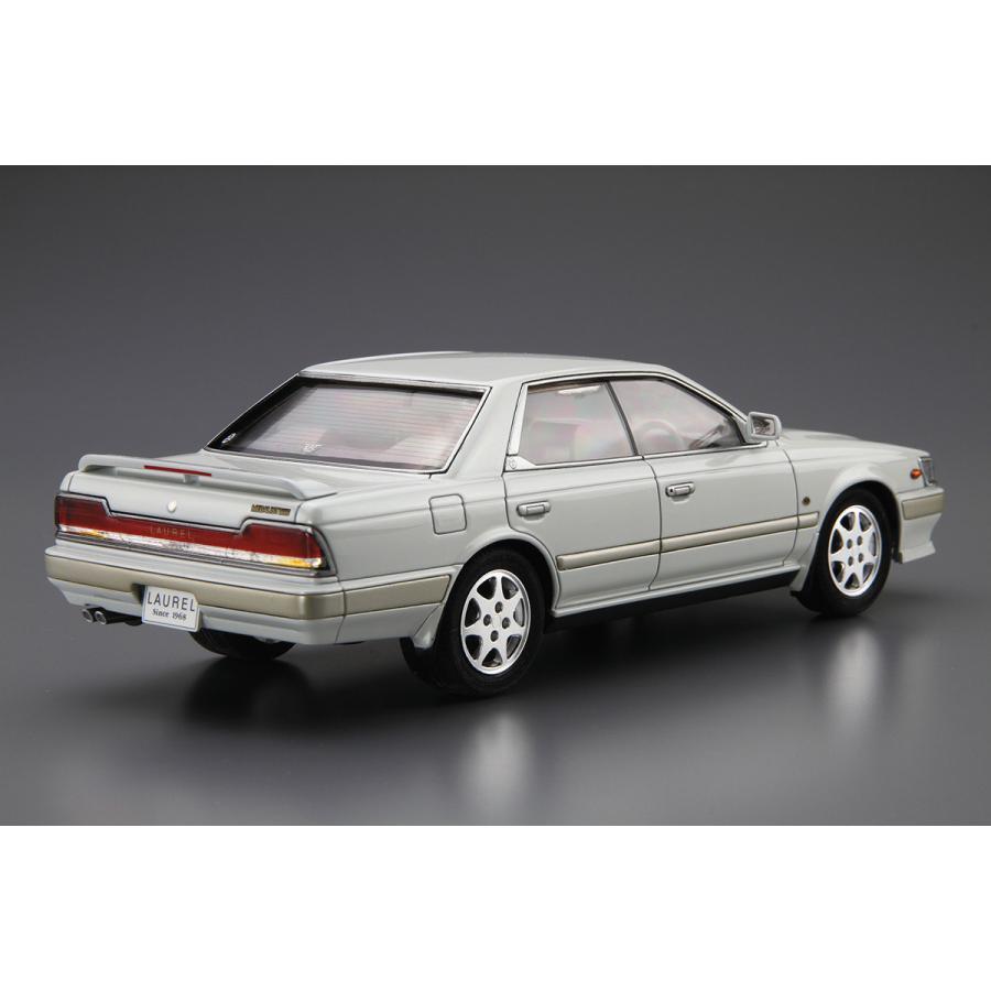 ニッサン HC33 ローレルメダリストCLUB・L '91 1/24 ザ・モデルカー No.28   #プラモデル|aoshima-bk|03