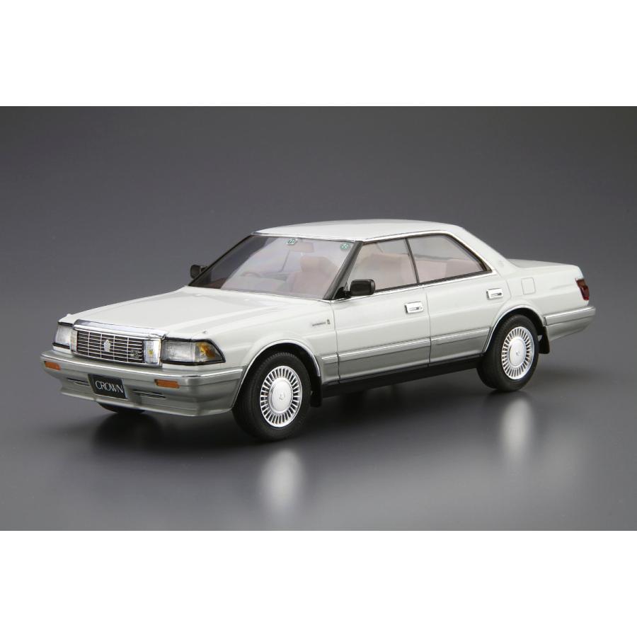 トヨタ UZS131 クラウン ロイヤルサルーンG '89 1/24 ザ・モデルカー No.87   #プラモデル|aoshima-bk|02