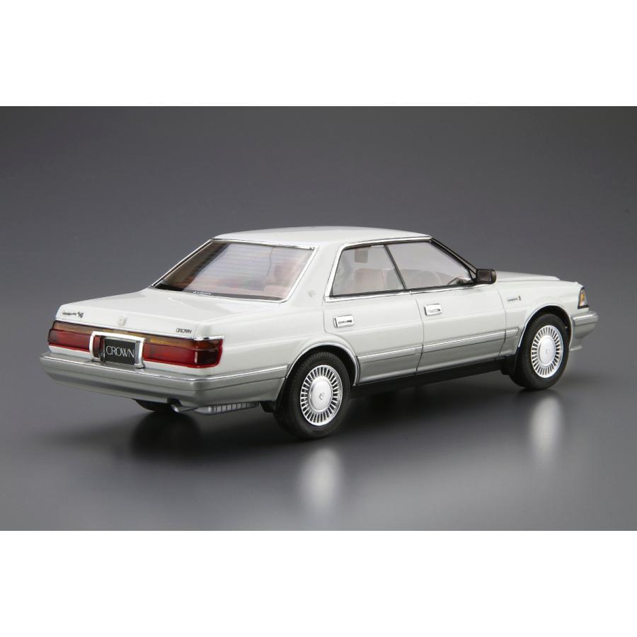 トヨタ UZS131 クラウン ロイヤルサルーンG '89 1/24 ザ・モデルカー No.87   #プラモデル|aoshima-bk|03