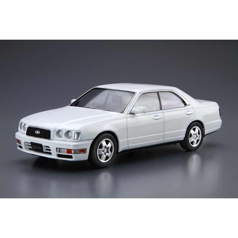ニッサン Y33 セドリック/グロリア グランツーリスモアルティマ '95 1/24 ザ・モデルカー No.95   #プラモデル|aoshima-bk|02