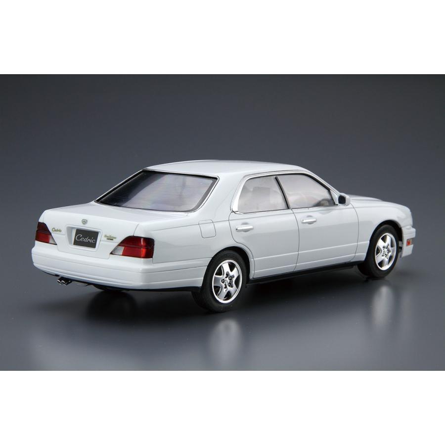 ニッサン Y33 セドリック/グロリア グランツーリスモアルティマ '95 1/24 ザ・モデルカー No.95   #プラモデル|aoshima-bk|03