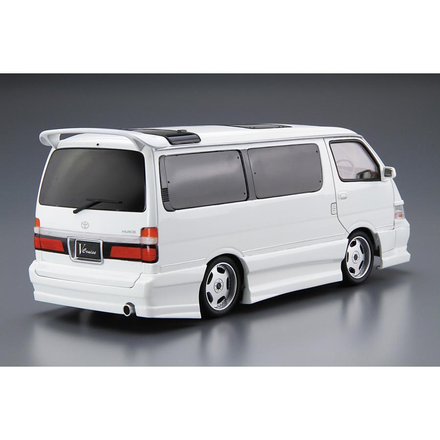 アズマックス KZH100ハイエース '99(トヨタ) 1/24 ザ・チューンドカー No.25  #プラモデル aoshima-bk 03
