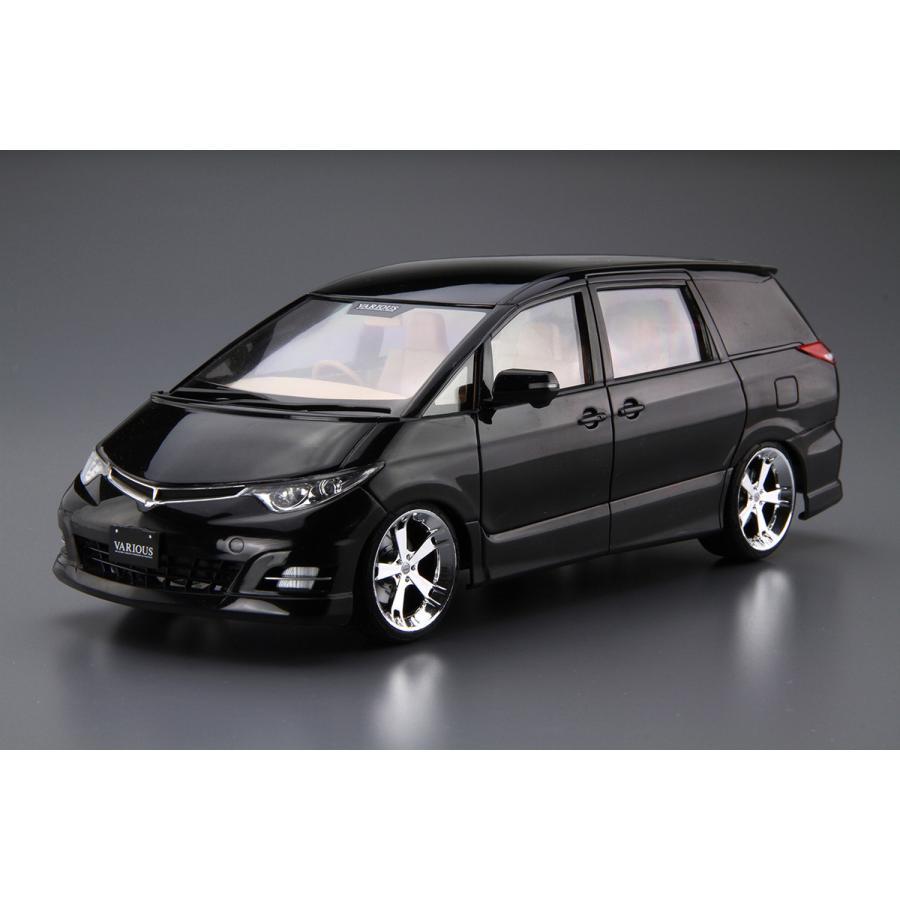 ファブレスヴァリエス GSR50エスティマ '06(トヨタ) 1/24 ザ・チューンドカー No.32  #プラモデル|aoshima-bk|02