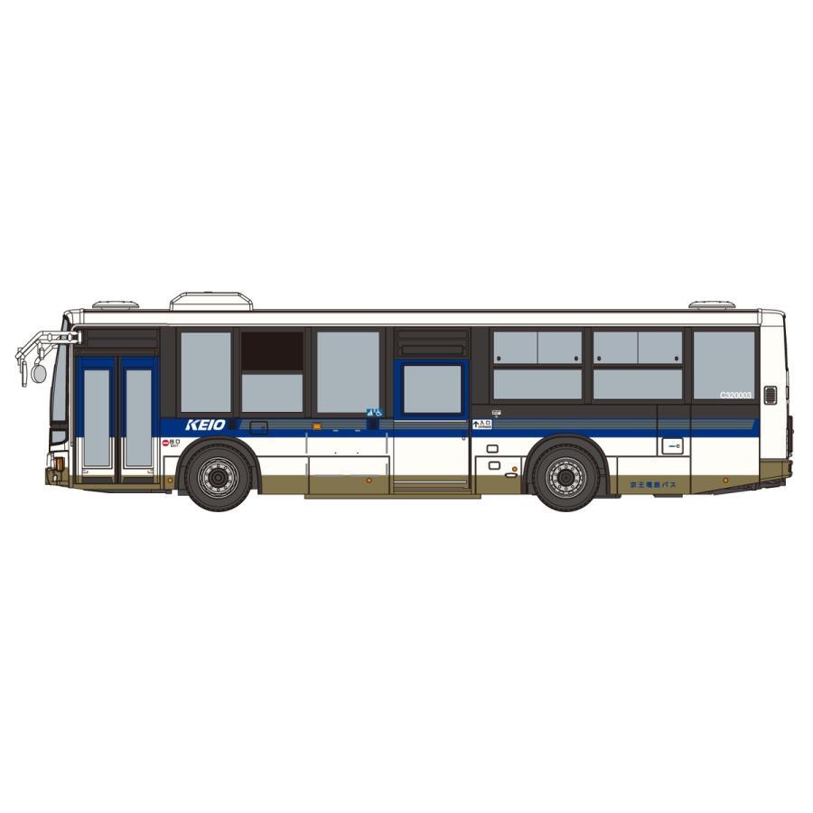 [予約2021年12月発送予定]1/80 三菱ふそう MP38エアロスター (京王電鉄バス) ワーキングビークル No.10 #プラモデル aoshima-bk