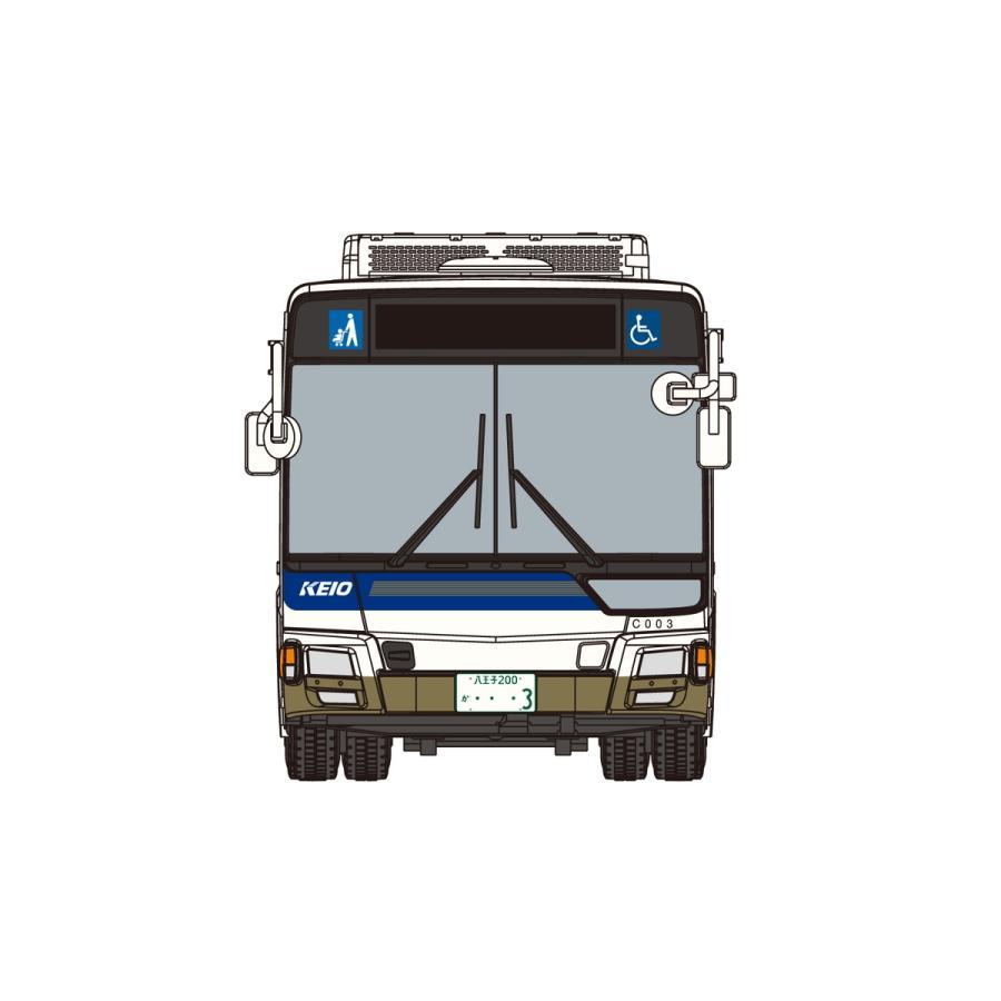 [予約2021年12月発送予定]1/80 三菱ふそう MP38エアロスター (京王電鉄バス) ワーキングビークル No.10 #プラモデル aoshima-bk 02