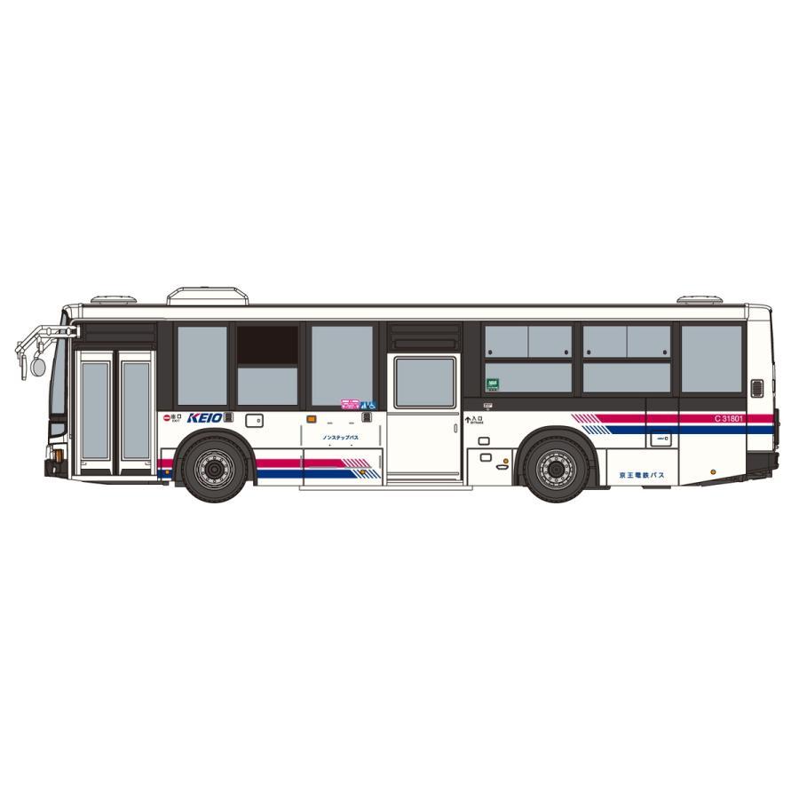 [予約2021年12月発送予定]1/80 三菱ふそう MP38エアロスター (京王電鉄バス) ワーキングビークル No.10 #プラモデル aoshima-bk 03