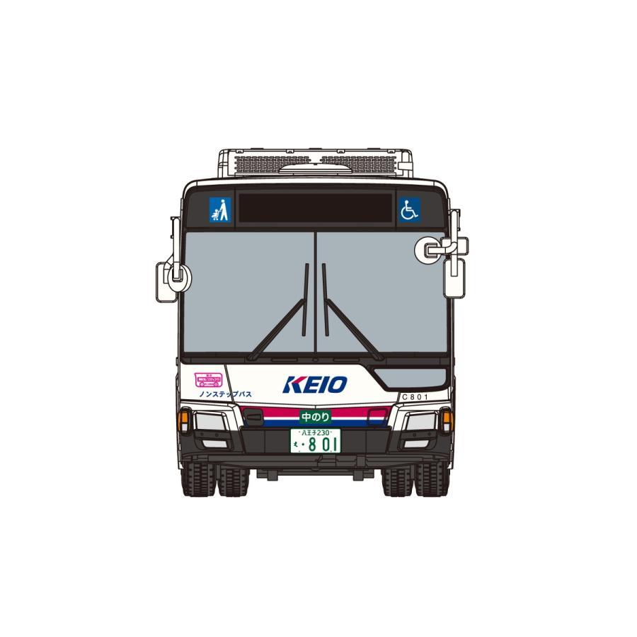 [予約2021年12月発送予定]1/80 三菱ふそう MP38エアロスター (京王電鉄バス) ワーキングビークル No.10 #プラモデル aoshima-bk 04
