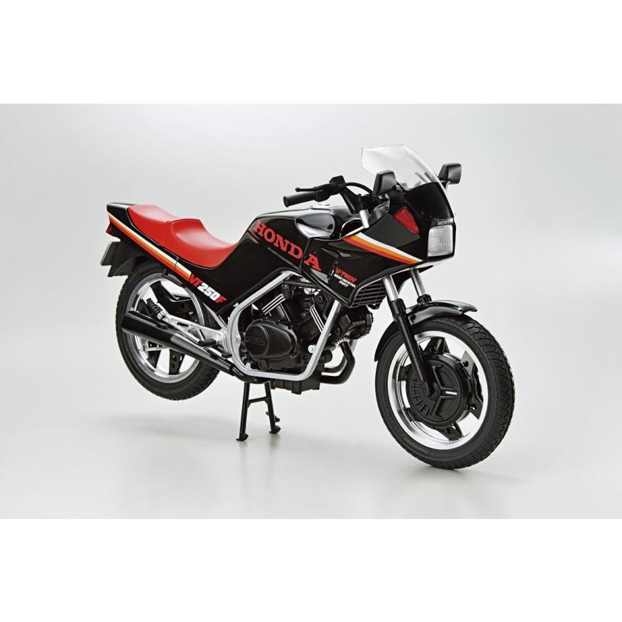 ホンダ MC08 VT250F '84 1/12  ザ・バイク No. 22 #プラモデル aoshima-bk 02