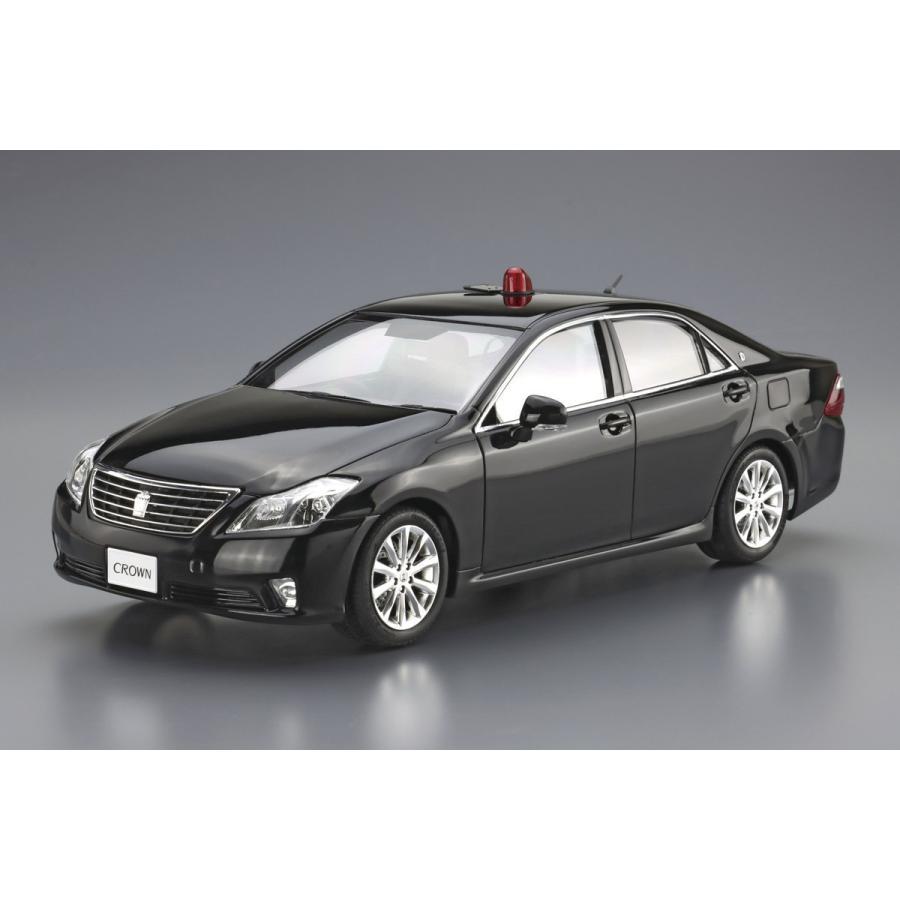 [予約2021年11月発送予定]トヨタ GRS202 クラウンパトロールカー 交通取締用 '10 1/24 ザ・パトロールカー No.6 #プラモデル aoshima-bk 02