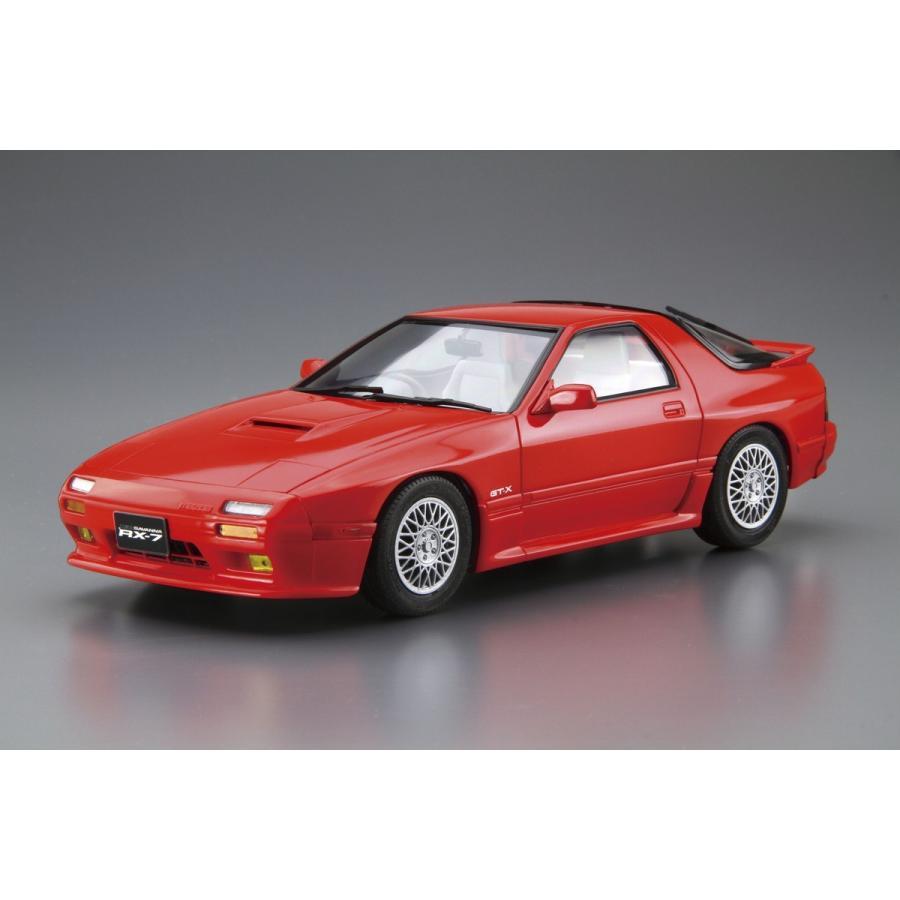 [予約2021年11月発送予定]マツダ FC3S サバンナRX-7 '89 1/24 ザ・モデルカー No.64 #プラモデル aoshima-bk 02