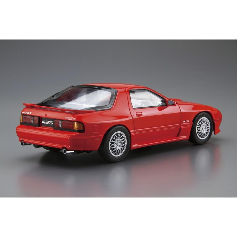 [予約2021年11月発送予定]マツダ FC3S サバンナRX-7 '89 1/24 ザ・モデルカー No.64 #プラモデル aoshima-bk 03