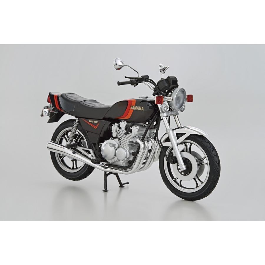 [予約2021年11月発送予定]ヤマハ 4G0 XJ400 '80 1/12 ザ・バイク No.24 #プラモデル|aoshima-bk|02