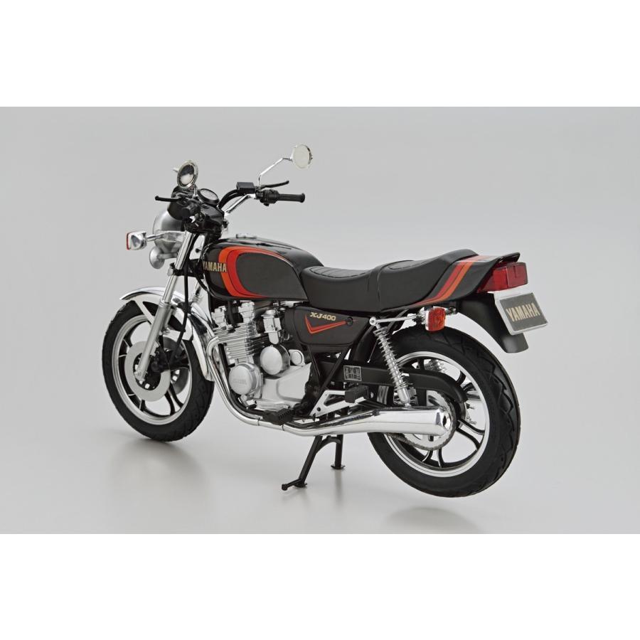 [予約2021年11月発送予定]ヤマハ 4G0 XJ400 '80 1/12 ザ・バイク No.24 #プラモデル|aoshima-bk|03