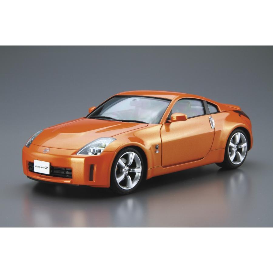 [予約2021年12月発送予定]1/24 ニッサン Z33 フェアレディZ バージョンST '07 ザ・モデルカー No.33 #プラモデル|aoshima-bk|02