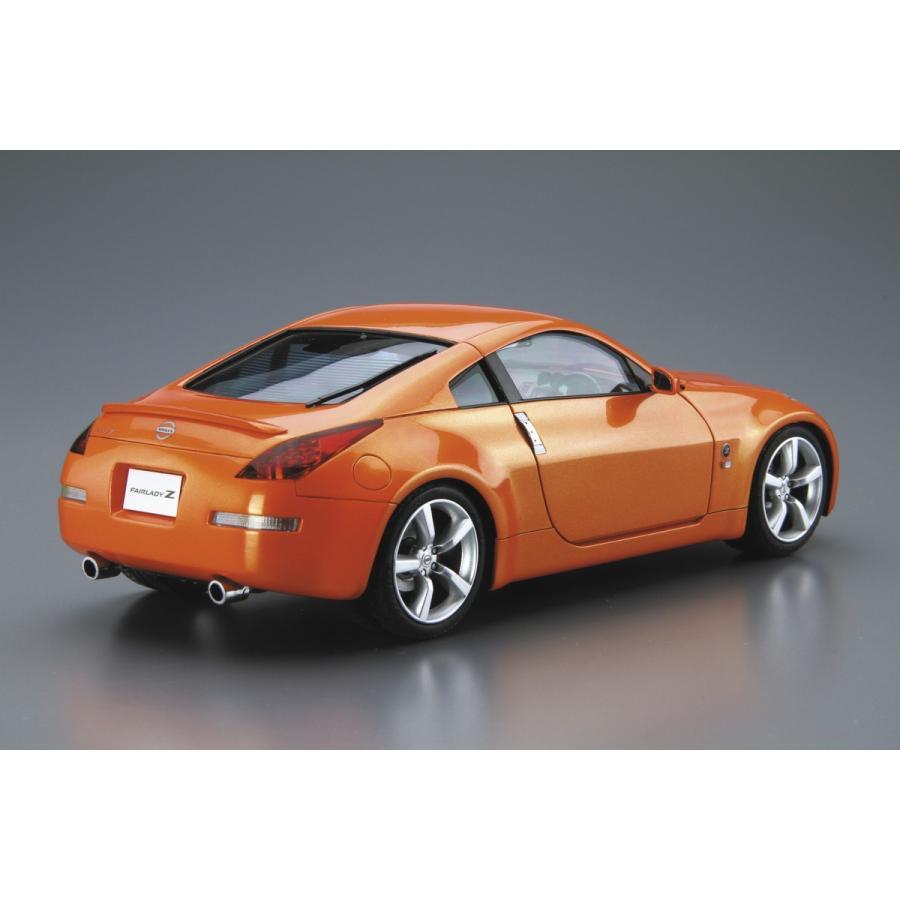[予約2021年12月発送予定]1/24 ニッサン Z33 フェアレディZ バージョンST '07 ザ・モデルカー No.33 #プラモデル|aoshima-bk|03