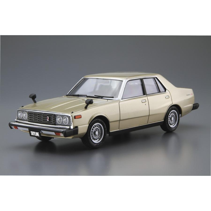 [予約2021年12月発送予定]1/24 ニッサン HGC211 スカイライン2000GT-E・S '79 ザ・モデルカー No.54 #プラモデル aoshima-bk 02