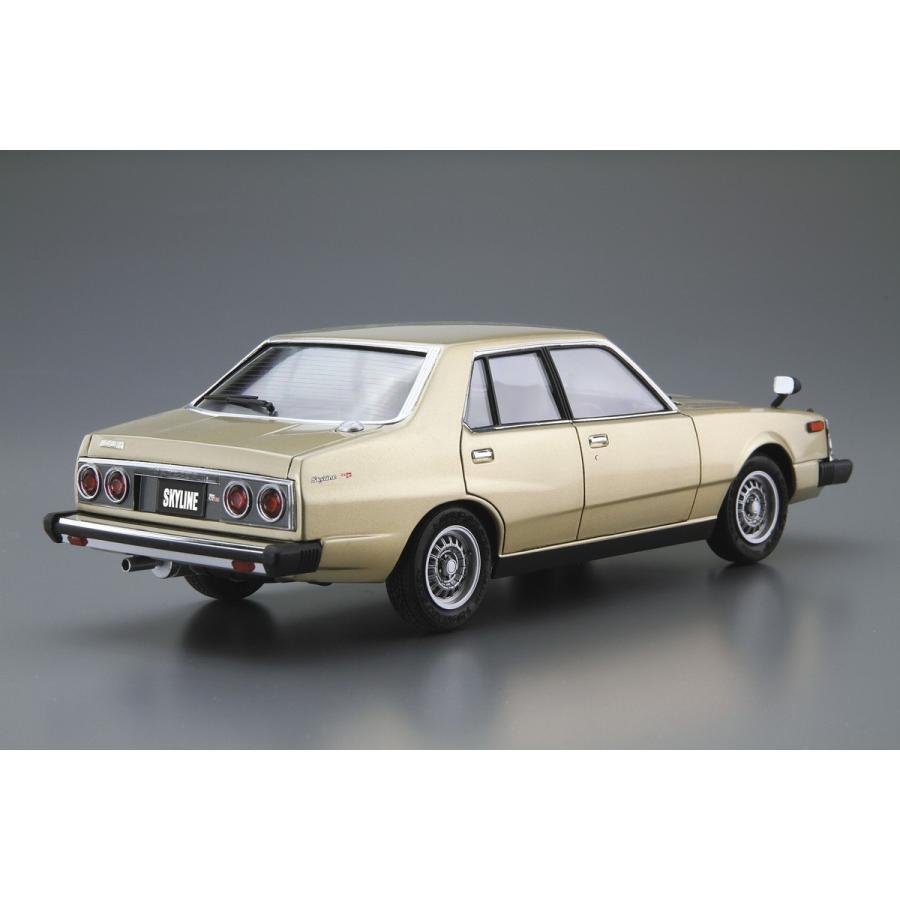 [予約2021年12月発送予定]1/24 ニッサン HGC211 スカイライン2000GT-E・S '79 ザ・モデルカー No.54 #プラモデル aoshima-bk 03