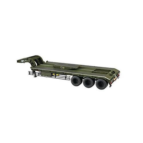 [予約特価5月再生産予定]陸上自衛隊 73式特大型セミトレーラー  1/72 ミリタリーモデルキット No.10 #プラモデル aoshima-bk 03