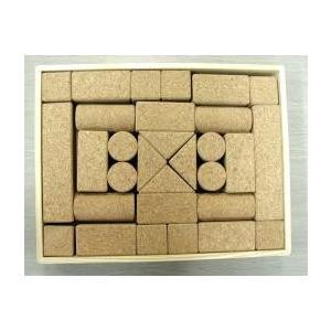 コルクの積み木 b-set おもちゃ 玩具 プレゼント