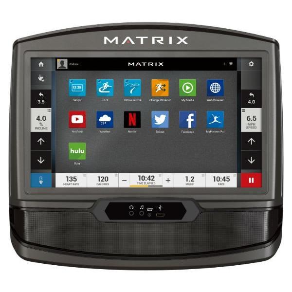 ジョンソンヘルステックジャパン MATRIX マトリックス T70-XIR-V2 トレッドミル(ルームランナー)16インチタッチパネルディスプレイ|aozora-d|02