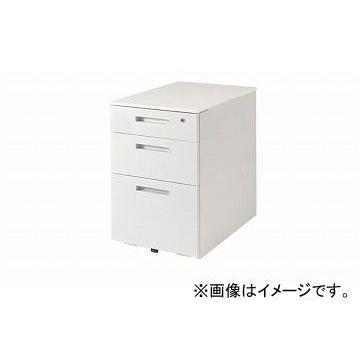 ナイキ/NAIKI ナイキ/NAIKI リンカー/LINKER トリアス ワゴン 3段 クリアホワイト TRH046XCK-WW 395×580×611mm