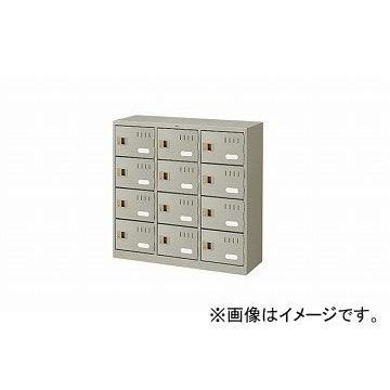 ナイキ/NAIKI シューズボックス 扉付 扉付 ウォームホワイト SB12KN-AW 900×330×880mm