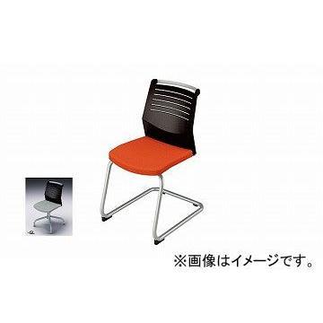 ナイキ/NAIKI 会議用チェアー キャンチレバー脚/背ヌードタイプ グレー E297-GL 463×590×822mm 463×590×822mm
