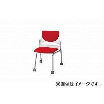 ナイキ/NAIKI 会議用チェアー レッド E274-2F-RE 544×575×760mm 544×575×760mm