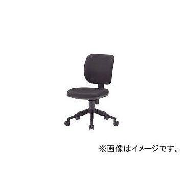 トラスコ中山/TRUSCO オフィスチェア 布張り 布張り ブラック FZ3BK(3015262) JAN:4989999756654