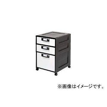アイリスオーヤマ/IRISOHYAMA オフィスキャビネット HG-321 ブラック ブラック ブラック HG321BK(3640311) JAN:4905009600519 522