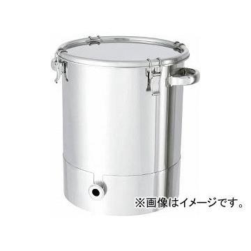 日東 ステンレスタンク片テーパー型クリップ式密閉容器 20L KTT-CTH-30(7516002)