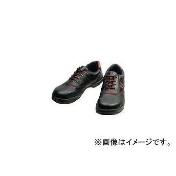 シモン 安全靴 短靴 SL11-R 黒/赤 24.5cm SL11R-24.5(3255565)
