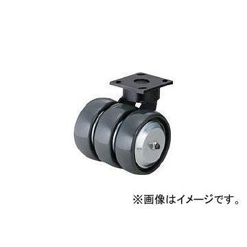 スガツネ工業 ダーコ3輪タイプキャスター(200-025-060) SUG-31-KP3406-PSE(7997329)