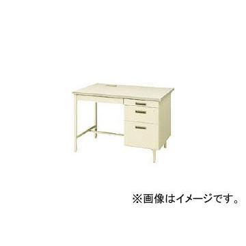 トヨスチール 片袖デスクコードホール付(旧JISタイプ) 100CG-C861N(7870621)